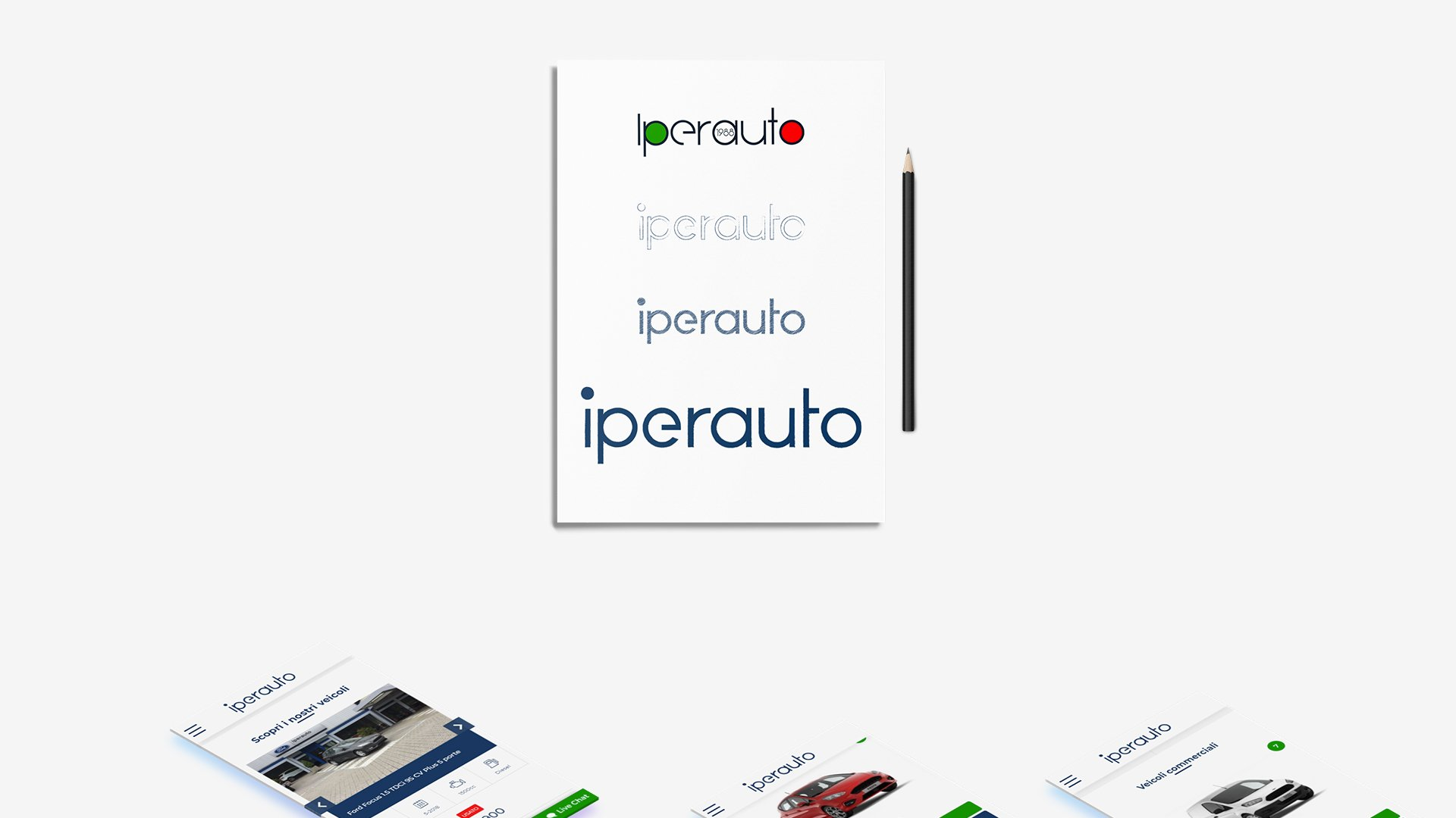 Visual Design e restyling del logo di Iperauto
