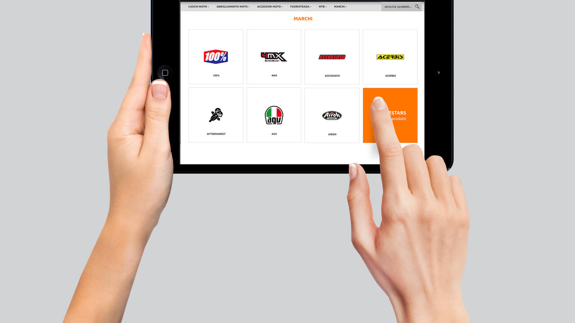 Orientamento Mobile First per l'e-commerce di Motostores