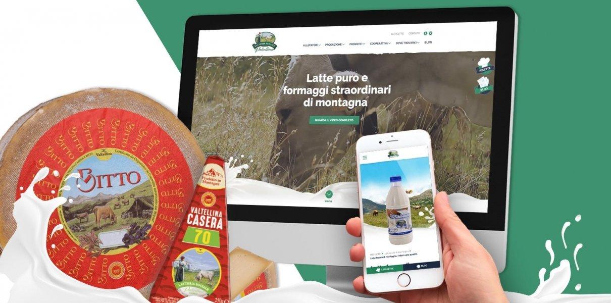App iOS e Android per Latteria Sociale Valtellina