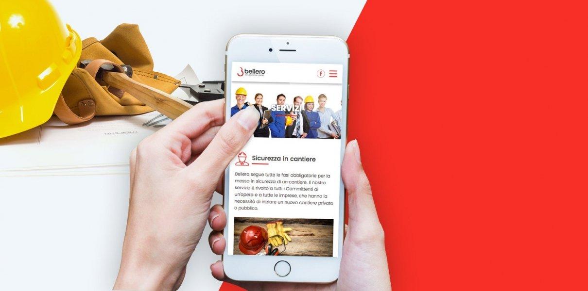 sito web e sviluppo applicazione Bellero