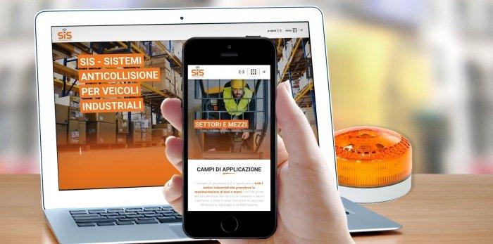 Sito web Mobile per SIS
