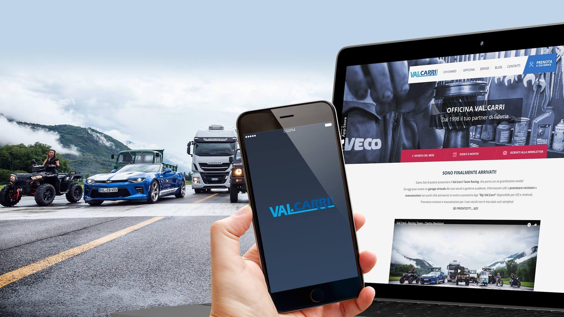 App iOS e Android per Val.Carri