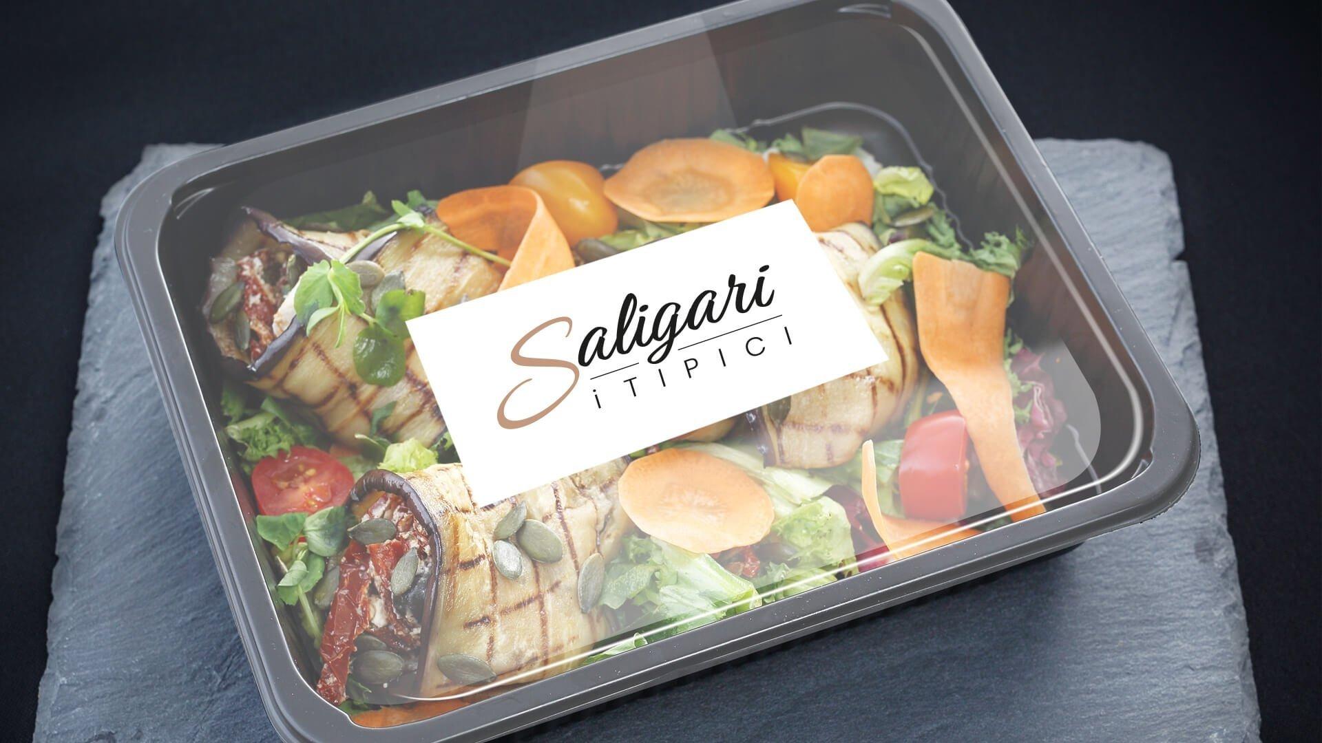 Vaschetta de I Tipici Saligari disegnata da Webtek