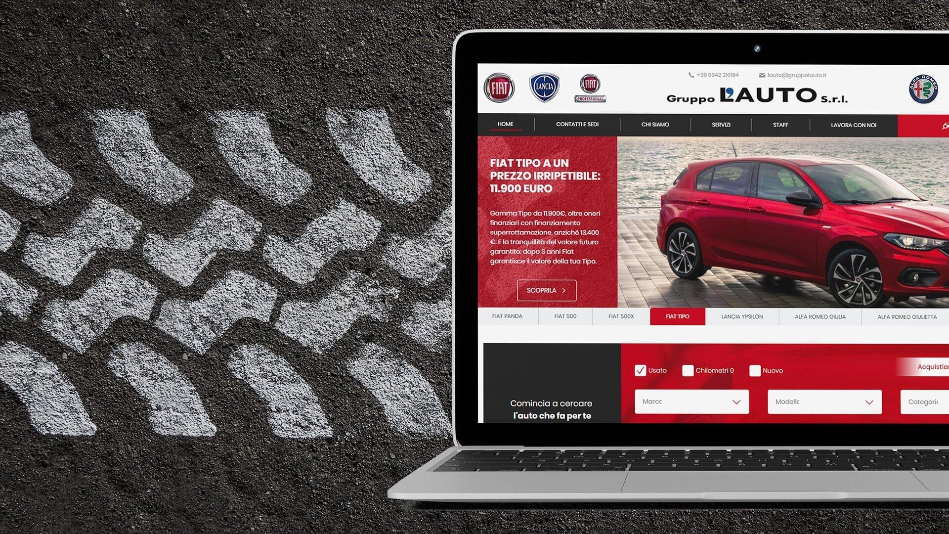 Portale web Gruppo L'Auto