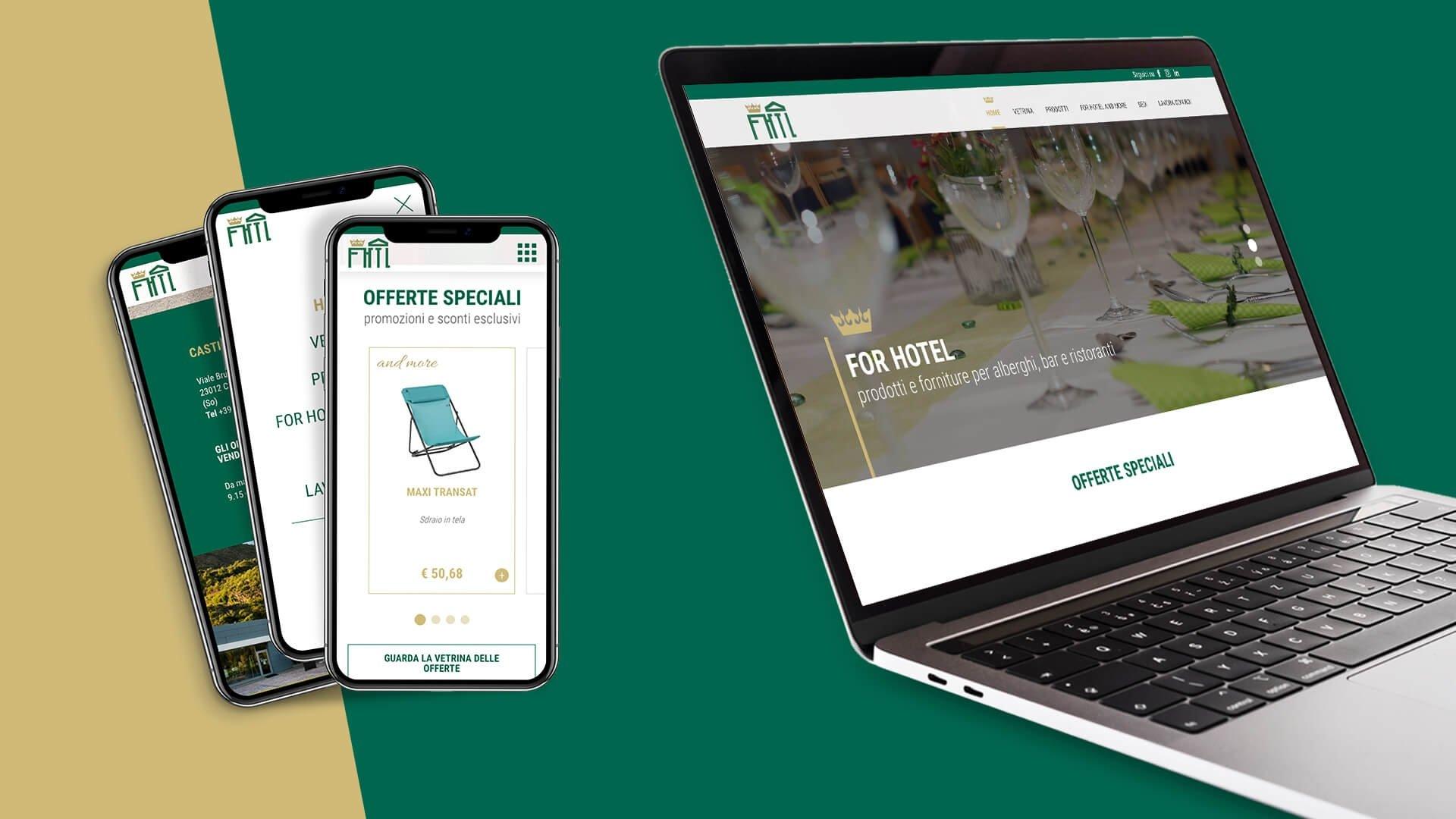 Progetto comunicativo e grafico per For Hotel