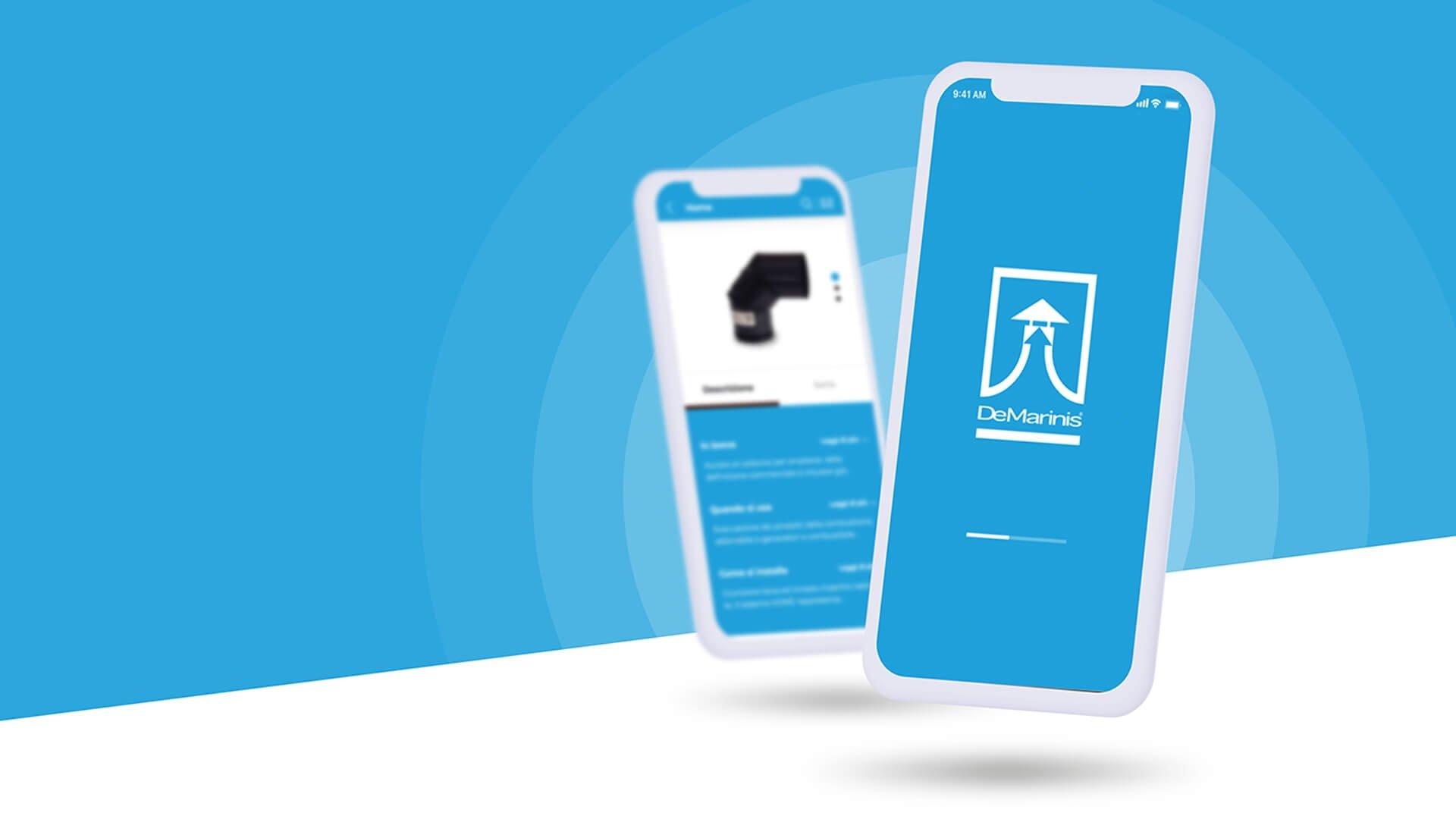 App per smartphone De Marinis