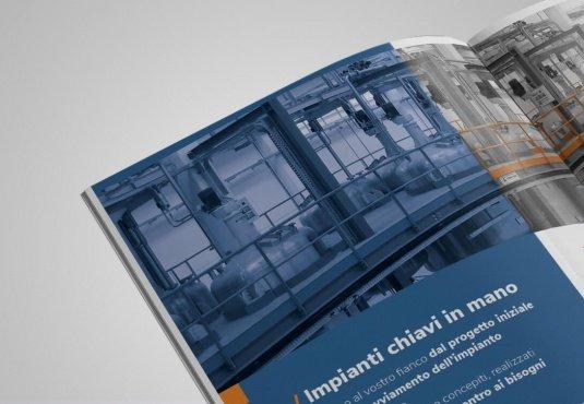 brochure aziendale: progettazione grafica e contenuti